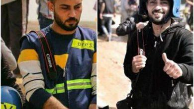 صورة رثاءٌ بالدمع .. والدة الشهيد الصحفي أحمد أبو حسين تكتب له رسالة