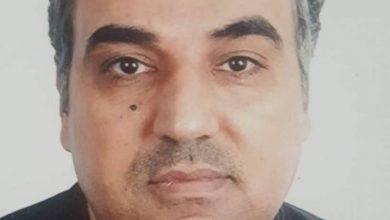 صورة اختطاف الصحفي أحمد محمود الأسطل