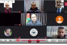 صورة ندوة إلكترونية نظمها منتدى الإعلاميين الفلسطينيين بعنوان: الإعلام والانتخابات..مسؤولية وضوابط