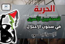صورة الحرية للصحفيين الأسرى في سجون الاحتلال الإسرائيلي