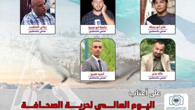 صورة قوات الاحتلال تستهدف الصحفيين بالرصاص وقنابل الغاز