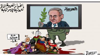 صورة كاريكاتير نتنياهو
