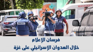 صورة فرسان الإعلام خلال العدوان الإسرائيلي على غزة | 10 -21 مايو 2021