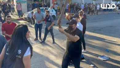 صورة انتهاكات صارخة  لحرية العمل الإعلامي