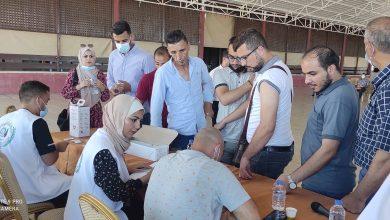 صورة بالتعاون مع وزارة الصحة منتدى الإعلاميين ينظم حملة تطعيم للصحفيين للوقاية من كورونا