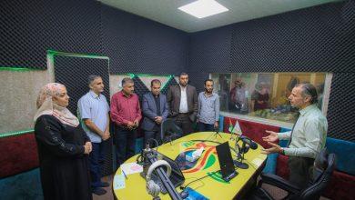 صورة وفد من منتدى الإعلاميين يبحث آفاق التعاون مع إذاعة نماء